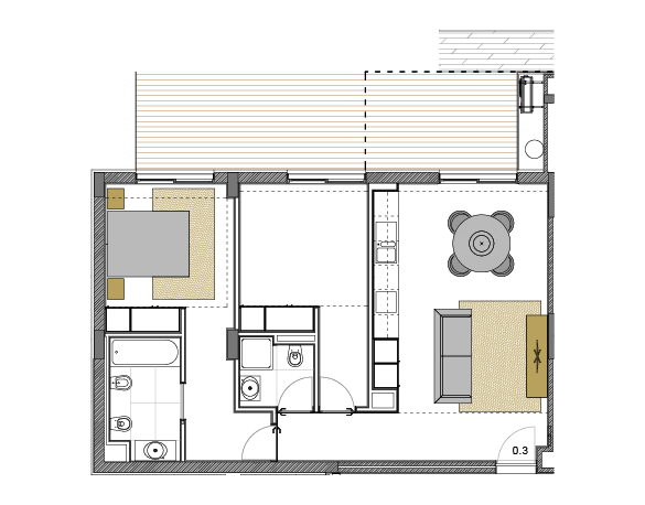 Apartamento 0.3
