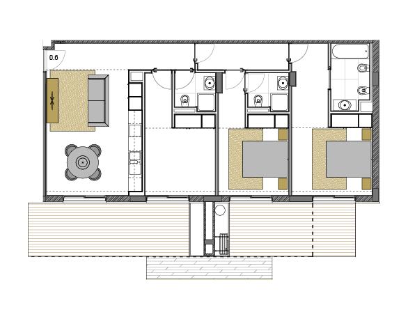Apartamento 0.6