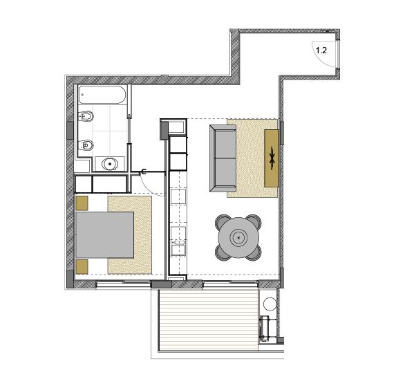 Apartamento 1.2