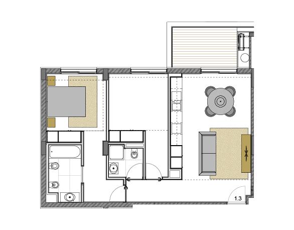 Apartamento 1.3