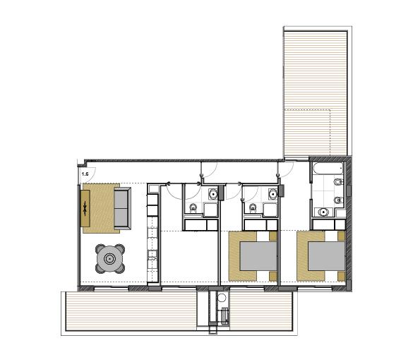Apartment 1.6