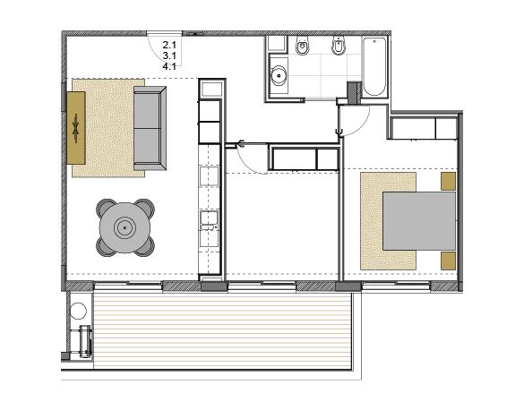 Apartamento 2.1