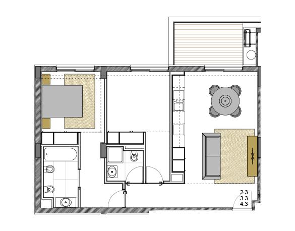 Apartment 2.3