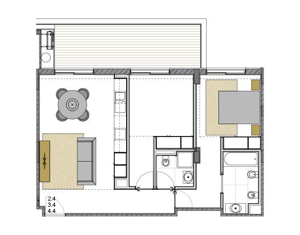 Apartment 2.4
