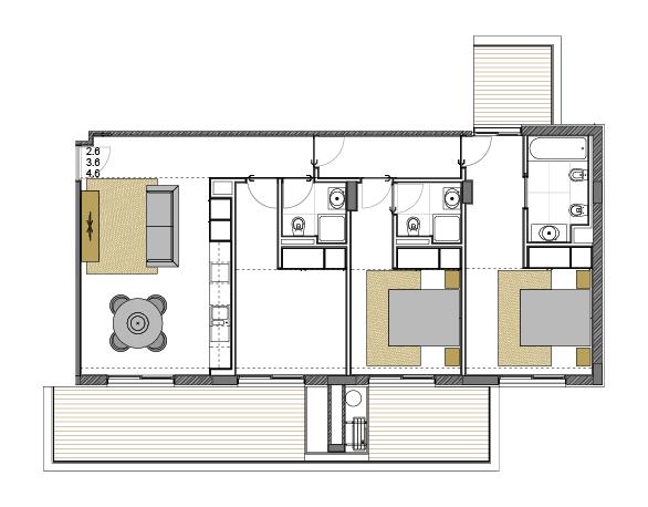 Apartment 2.6